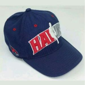 Adidas Atlanta Hawks Hat Fitted Blue Climal L XL